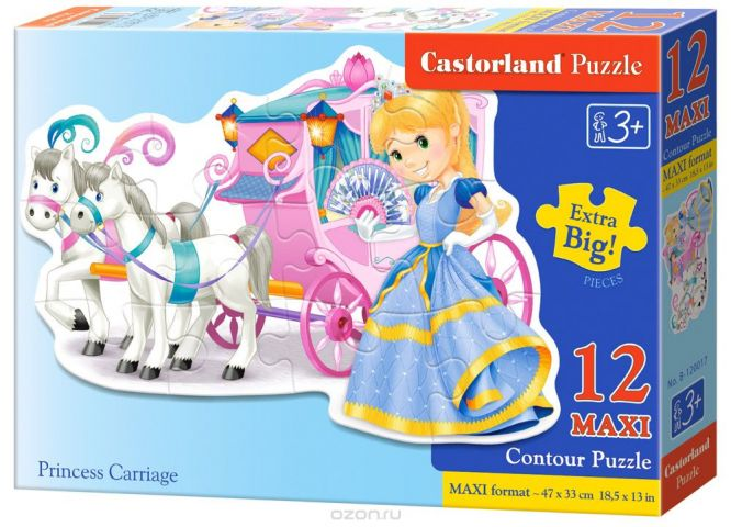 Castorland Пазл Принцесса