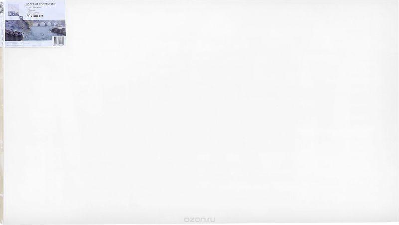 """Холст ArtQuaDrum """"Этюдный"""" 50 х 100 см, на подрамнике, грунтованный"""