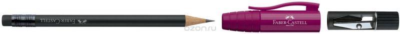 Faber-Castell Карандаш чернографитовый Perfect Pencil II цвет корпуса бордовый