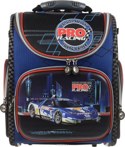 """Ранец школьный Hummingbird """"Pro Racing"""", цвет: синий, красный. K90"""