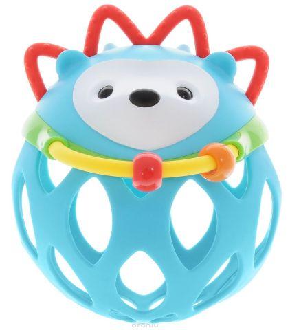 Skip Hop Развивающая игрушка-погремушка Шар-ежик