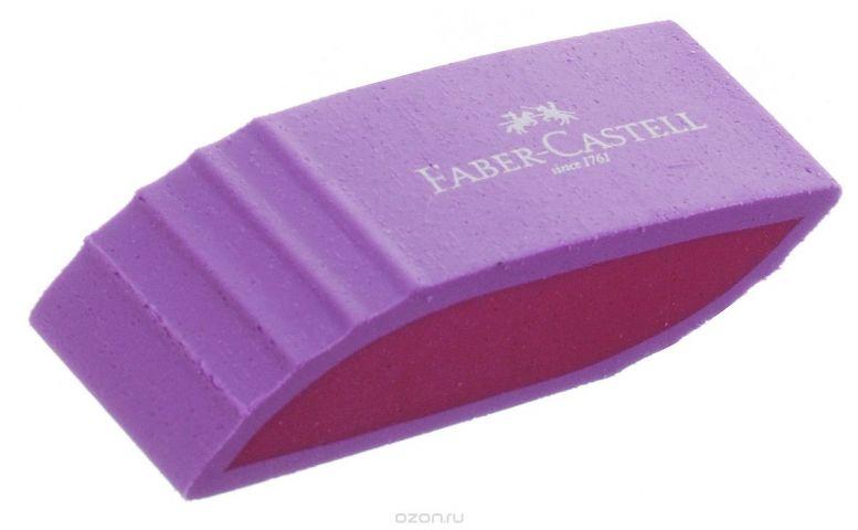 Faber-Castell Ластик фигурный цвет сиреневый