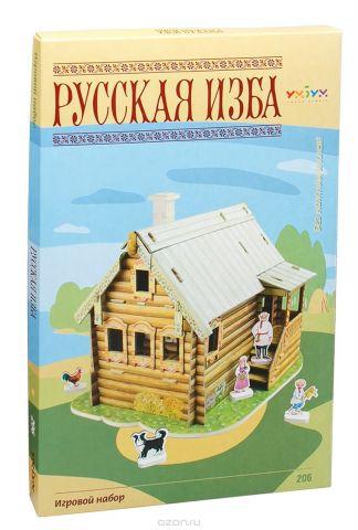 Умная бумага 3D Пазл Русская изба
