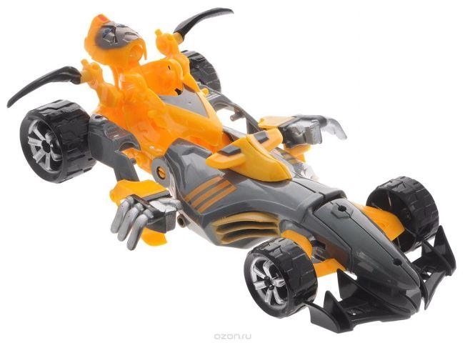 Тилибом Робот-трансформер Стражи галактики цвет черный оранжевый