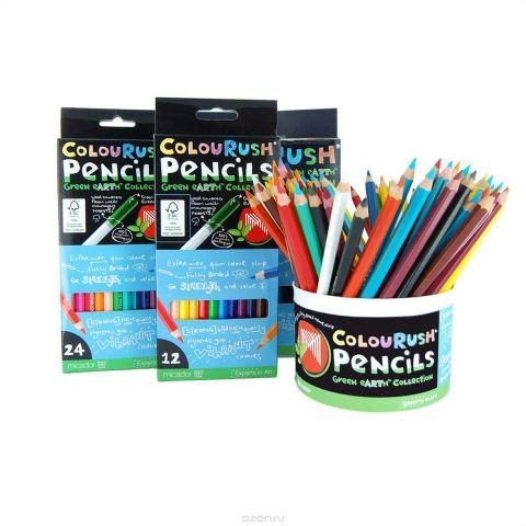 Micador Цветные эко-карандаши 24 цвета