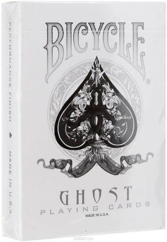 """Карты игральные Bicycle """"Ghost"""", 54 карты"""