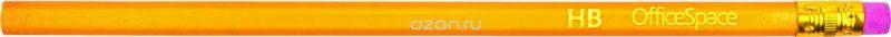 OfficeSpace Набор чернографитных карандашей с ластиком 12 шт BLSP_157