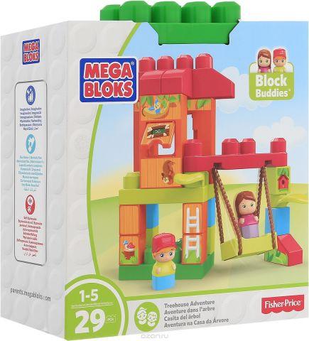Mega Bloks Storytelling Конструктор Домик на дереве