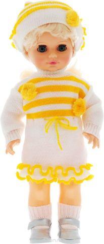 Весна Кукла озвученная Инна цвет одежды белый желтый