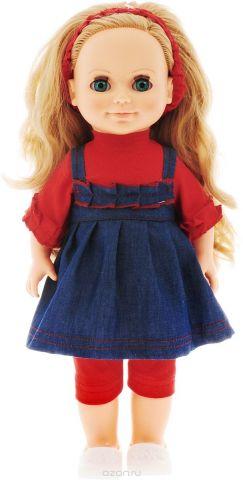Весна Кукла озвученная Анна цвет наряда синий красный