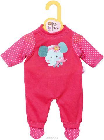 Baby Born Комбинезон для куклы цвет розовый