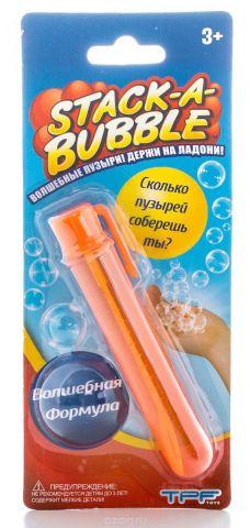 Stack-A-Bubble Мыльные пузыри Застывающие цвет оранжевый 22 мл