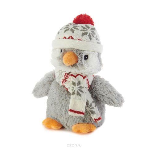 Warmies Мягкая игрушка-грелка Пингвин в шапочке