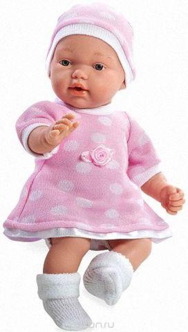 Arias Пупс цвет платья розовый белый