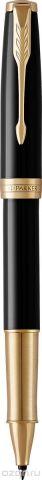 Parker Ручка-роллер Sonnet Lacque Black GT