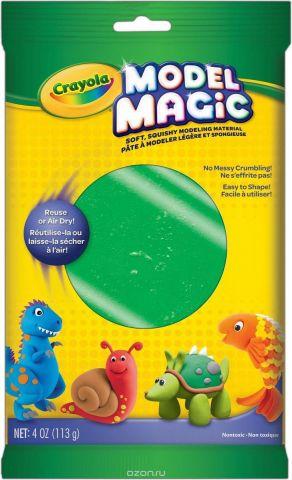 Crayola Застывающий пластилин цвет зеленый 113 г