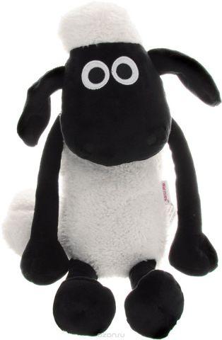 """Мягкая игрушка-грелка Warmies """"Барашек Шон"""", цвет: белый, черный"""