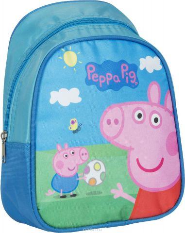 Peppa Pig Рюкзак дошкольный Свинка Пеппа цвет голубой