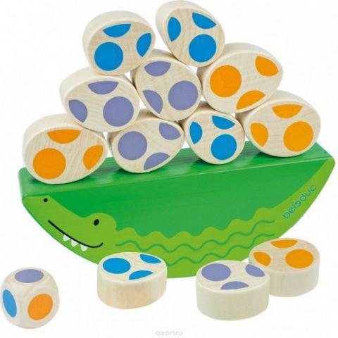 Beleduc Развивающая игрушка Веселый крокодильчик