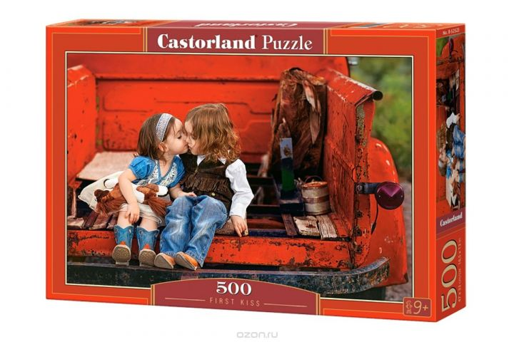 Castorland Пазл Первый поцелуй