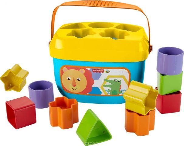 Fisher-Price Сортер Первые кубики малыша