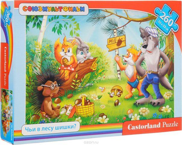 Castorland Пазл Чьи в лесу шишки?