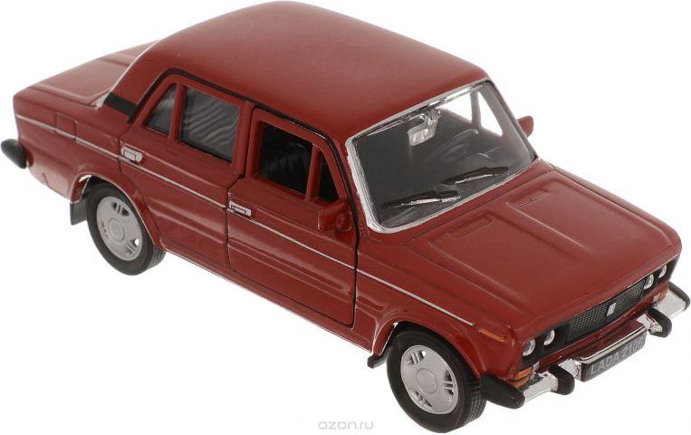 Welly Модель автомобиля LADA 2106 цвет красный
