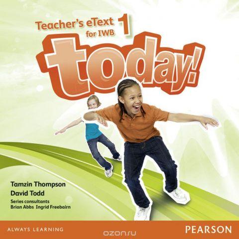 Today! 1 Teacher's eText IWB CD-Rom