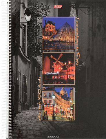 Hatber Тетрадь Краски Парижа 160 листов в клетку