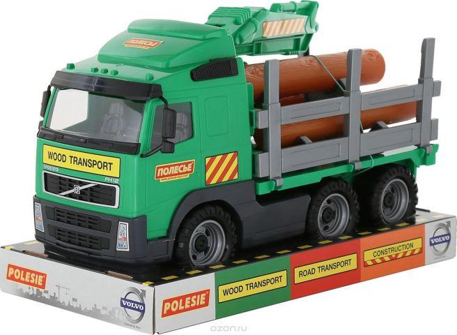 Полесье Лесовоз Volvo цвет зеленый