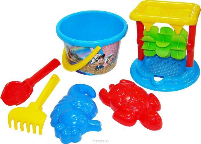 Полесье Набор игрушек для песочницы №348