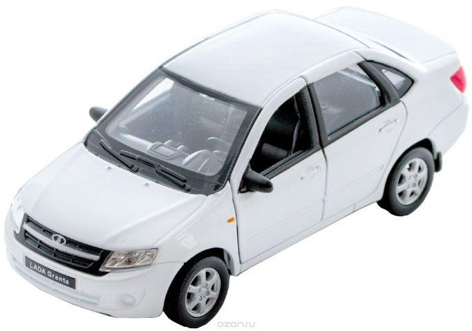 Welly Модель автомобиля LADA Granta цвет белый