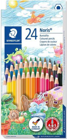 Staedtler Набор цветных карандашей Noris Club 144 ND 24 цвета