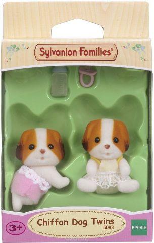 Sylvanian Families Набор фигурок Шифонские щенки-двойняшки