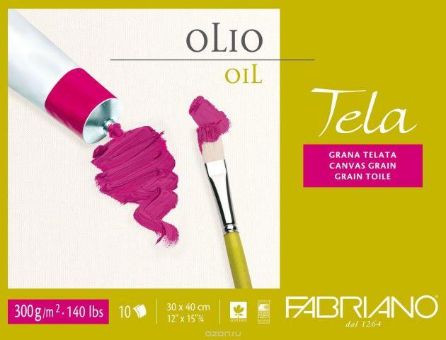 Fabriano Блок для масла Tela 10 листов 68001824