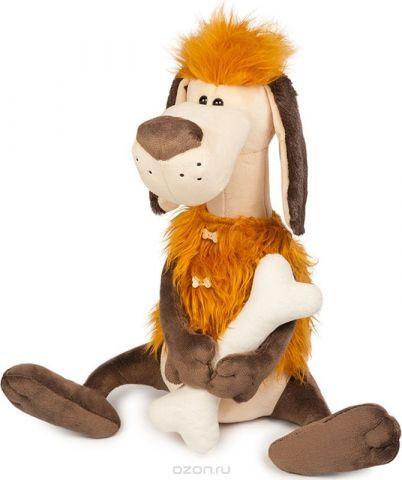 Maxitoys Luxury Мягкая игрушка Пес Робинзон с косточкой 28 см