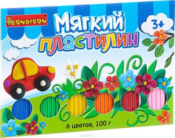 Bondibon Мягкий пластилин ВВ1814