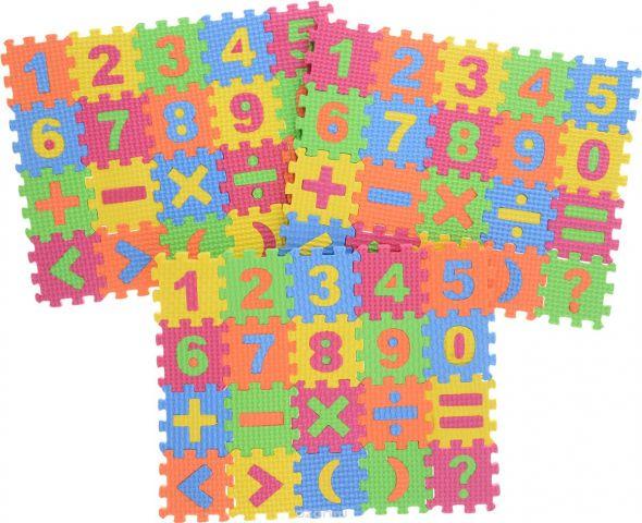 Kribly Boo Пазл для малышей с цифрами и знаками 62685