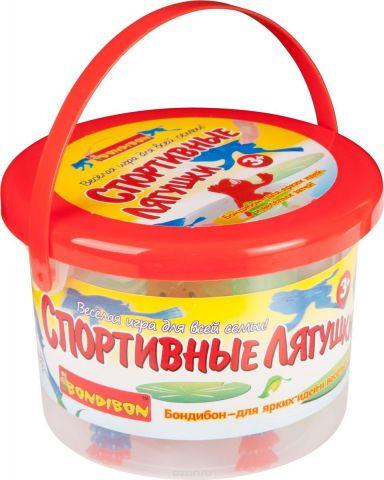Bondibon Настольная игра Спортивные Лягушки