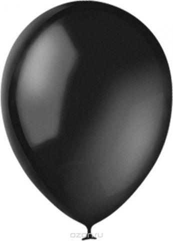 Latex Occidental Набор воздушных шариков Декоратор Black 048 100 шт