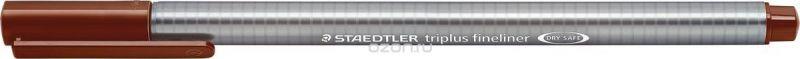 Staedtler Ручка капиллярная Triplus 334 0,3 мм цвет чернил коричневый Ван Дейк