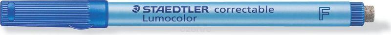 Staedtler Маркер Lumocolor с ластиком 0,6 мм цвет чернил синий