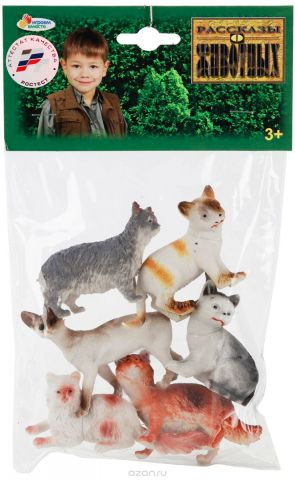 Играем вместе Набор фигурок Кошки 6 шт