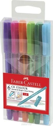 Faber-Castell Набор ручек-роллеров СX5 0,7 мм 6 шт