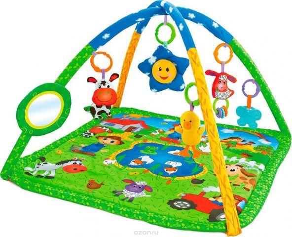 Funkids Игровой коврик Happy Farm Gym