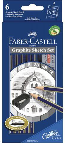 Faber-Castell Набор карандашей чернографитных Goldfaber 1221 Вид 2 6 шт
