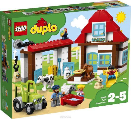 LEGO DUPLO Town Конструктор День на ферме 10869