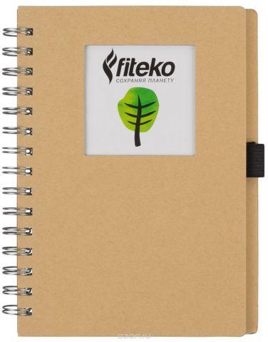 Fiteko Тетрадь 80 листов цвет светло-коричневый RPT-04
