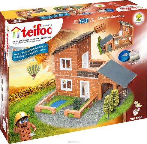 Teifoc Строительный набор Вилла с гаражом