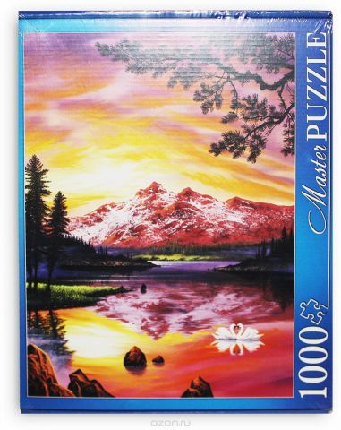 Masterpuzzle Пазл Джон Раттенбери Озеро и закат (в)